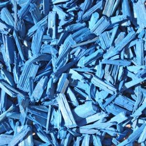 copeaux colorés bleu mer