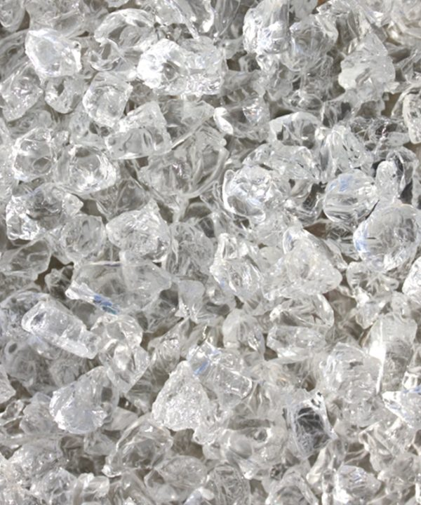 verre pilé cristal