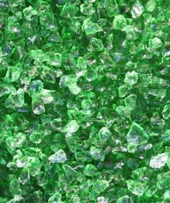verre pilé emeraude