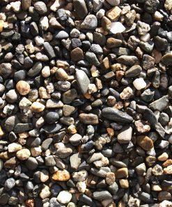 gravier roulé gave noir
