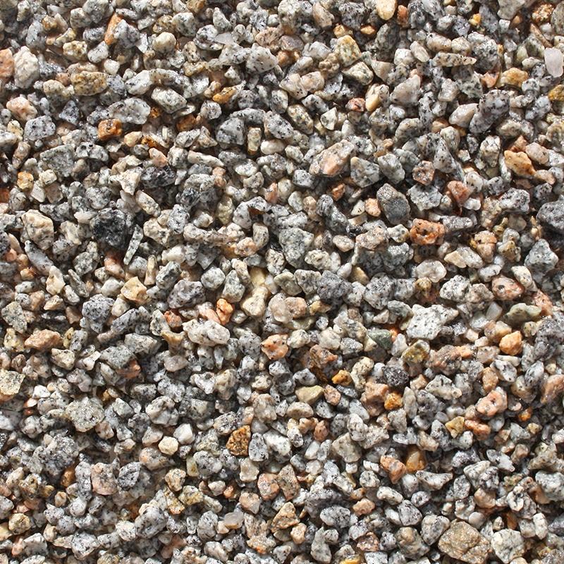 gravier granite concassé gris/jaune
