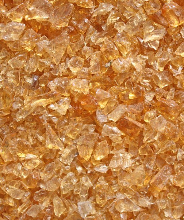 gravier de verre fin miel