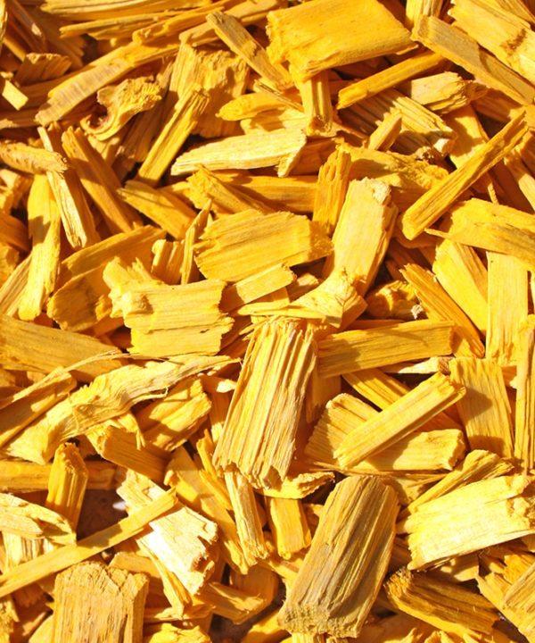 copeaux colorés jaune