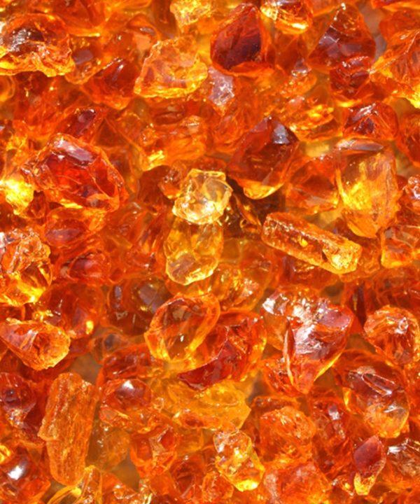 verre pilé miel