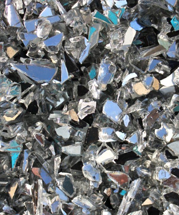 verre pilé miroir