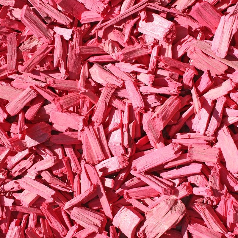 copeaux colorés rose bonbon