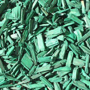 copeaux colorés vert forêt