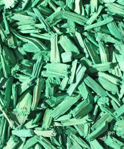 copeaux colorés vert herbe