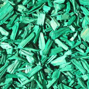 copeaux colorés vert menthe
