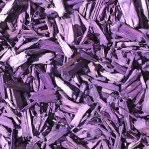 copeaux colorés violet