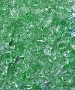 verre pilé vert cuivre