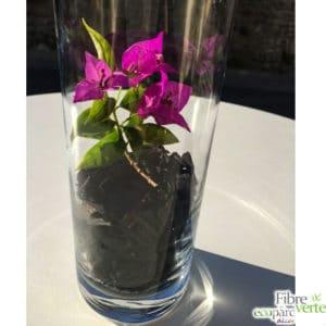 copeaux noirs vase inspiration