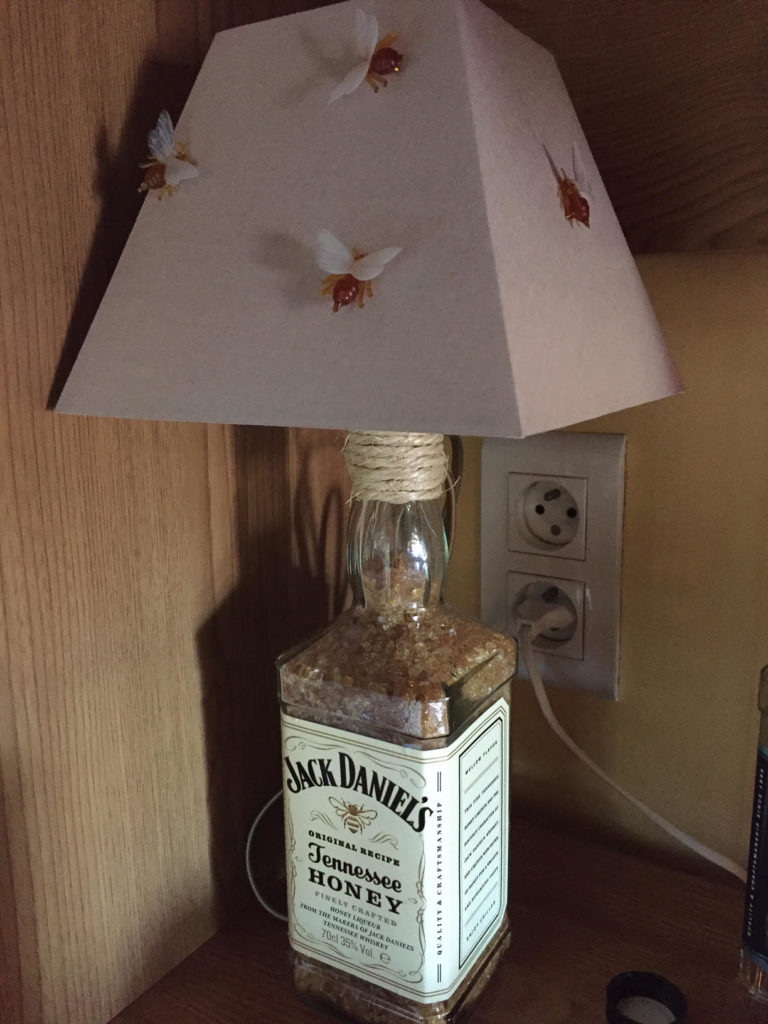 Lampe miel jack daniels