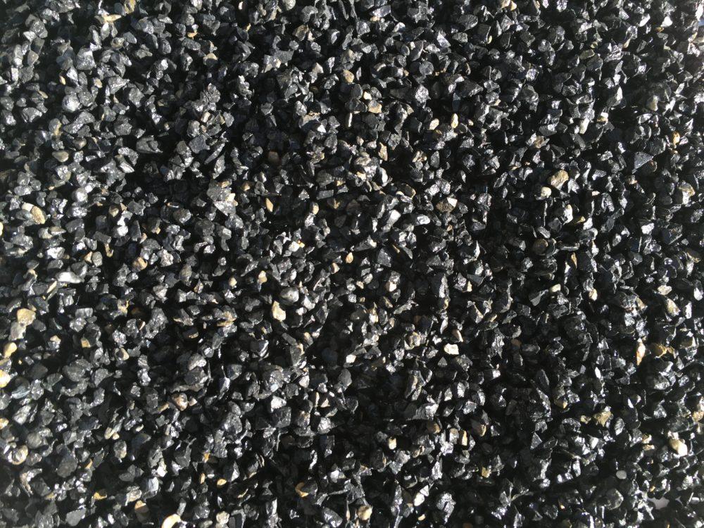 gravillon concassé noir
