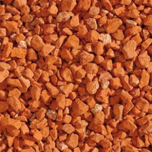 Gravier de Verre Orangé
