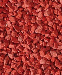 Gravier de Verre Rouge