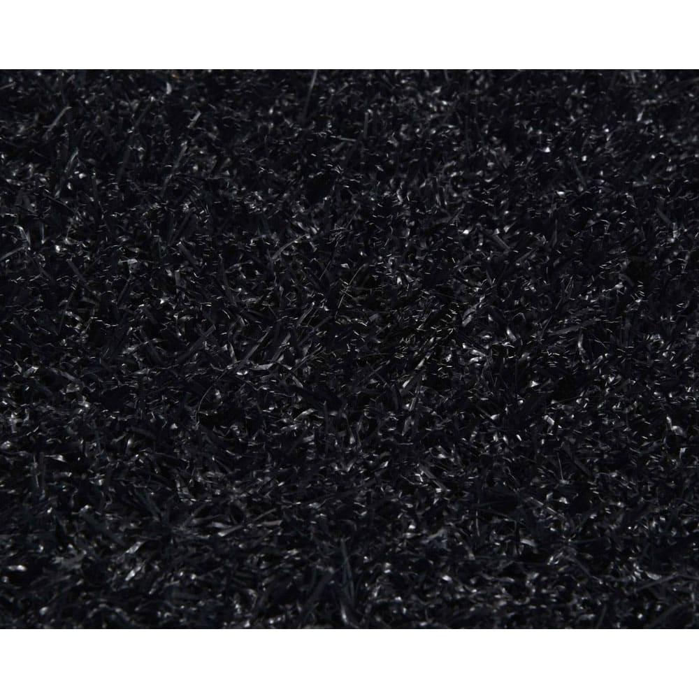 Gazon synth tique noir fibreverte d cor - Gazon synthetique gris ...