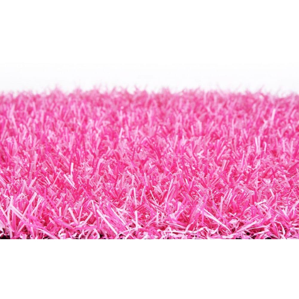 Gazon synth tique rose fibreverte d cor - Gazon synthetique gris ...