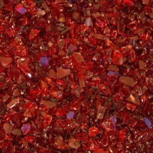 verre pilé rouge