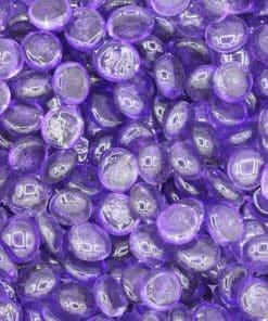 Galet Rond Plat Violet - Fibre Verte Shop - Paillage Décoratif